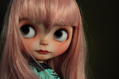 Nell Vainilladolly Custom Blythe OOAK Doll