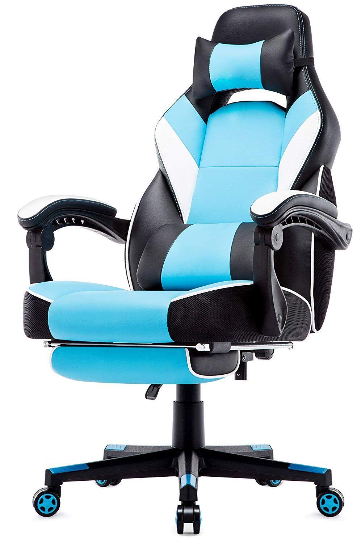 Intimate Wm Heart Chaise De Bureau Gaming En Similicuir Fauteuil Racing Inclinable Siege Ergonomique Pivotant Dossier H Chaise Bureau Bureau Gaming Fauteuil