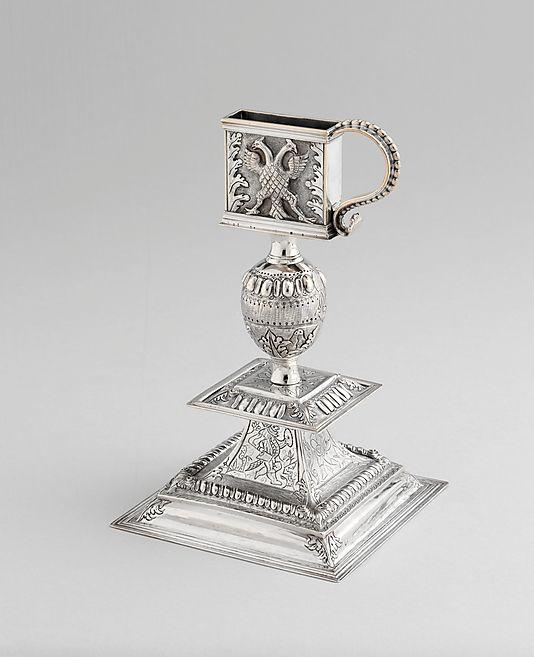 1705 American (New York) Snuffer stand at the Metropolitan Museum of Art, New York