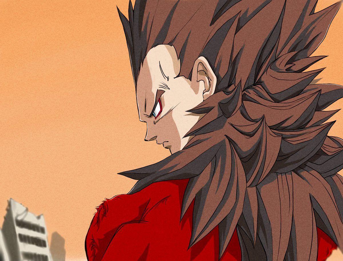 Vegeta Dragon ball art, Aesthetic anime, Dragon ball gt