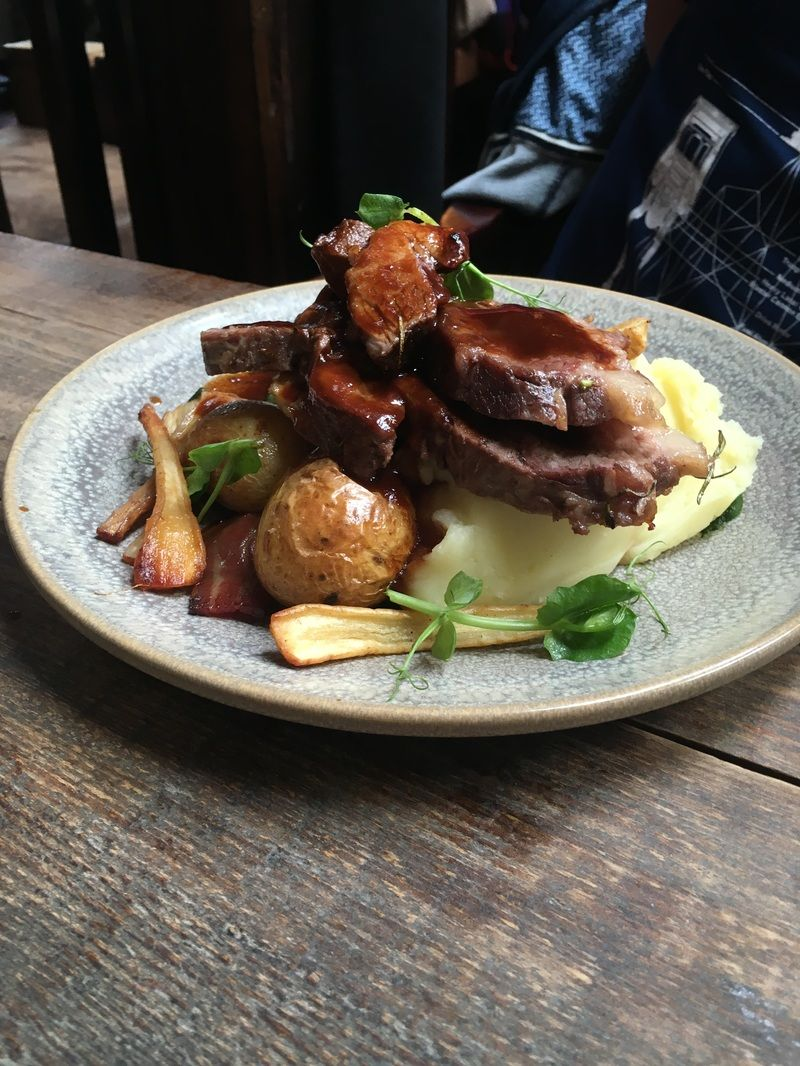 L Mulligan Grocer Menu Dublin Sunday Lunch Lunch Beef Rib Roast