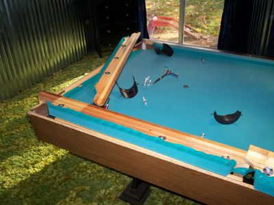 Instructions for Refelting Your Pool Table