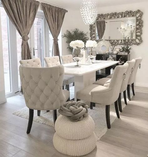 45 Best Simple Dining Room Decorating Ideas 43 Fieltro Net Dining Room Table Decor Luxury Dining Room Living Room Decor Cozy