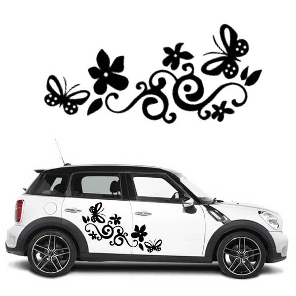 Flower Car Decals Google Search Mini Cooper Pinterest Car