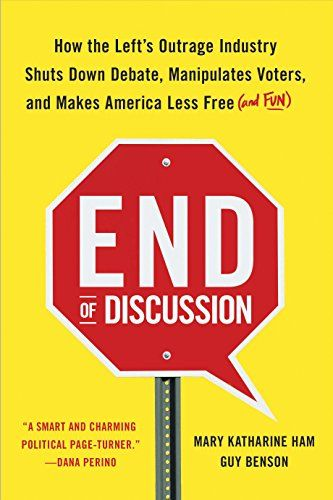 End of Discussion: How the Left's Outrage Industry Shuts Down Debate, Manipulates Voters, and Makes America Less Free (and Fun) by Mary Katharine Ham http://www.amazon.com/dp/B00NKDMCFK/ref=cm_sw_r_pi_dp_0R8Gvb1W4B9C2