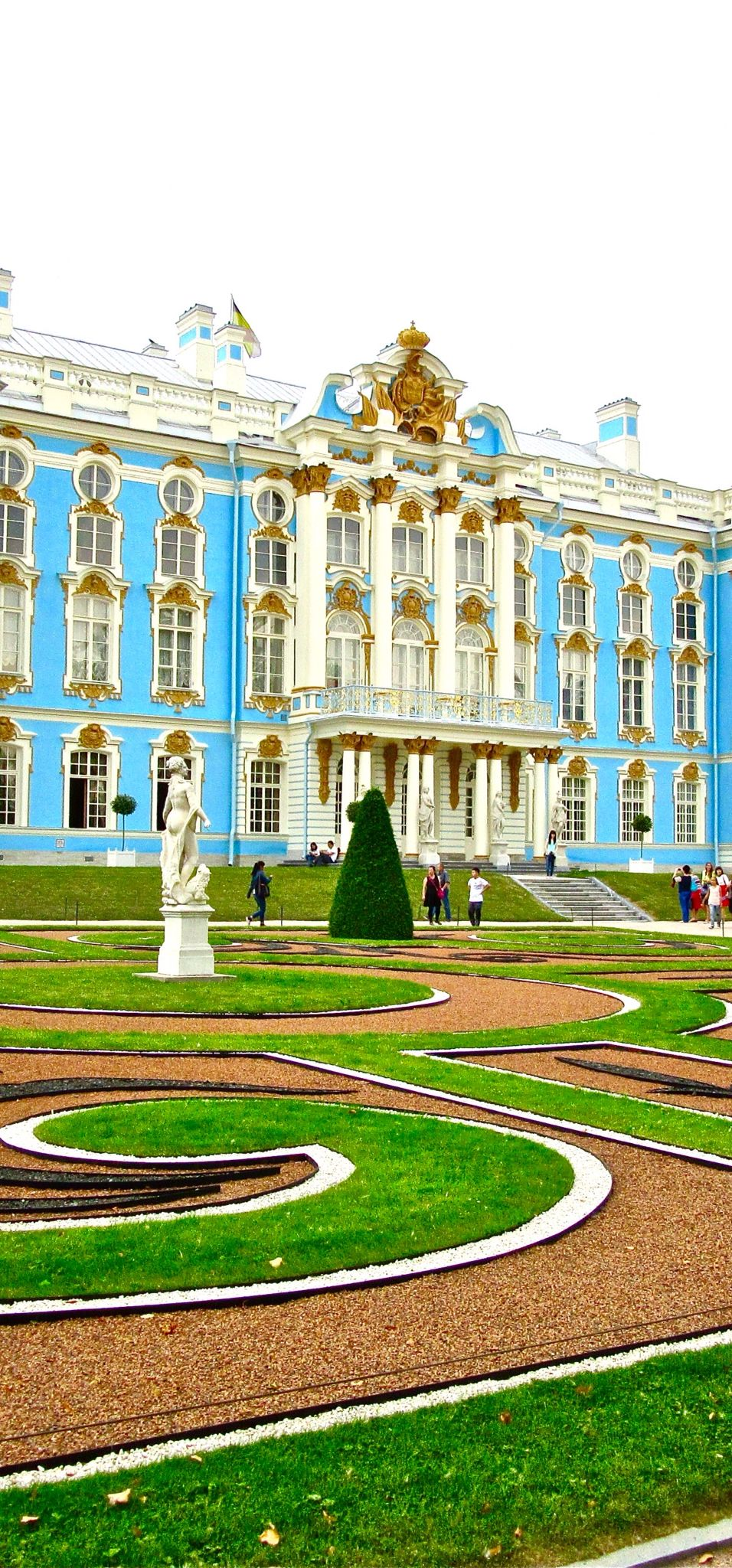 The Catherine Palace,Tsarskoye Selo (Pushkin), Russia - a UNESCO World Heritage Site
