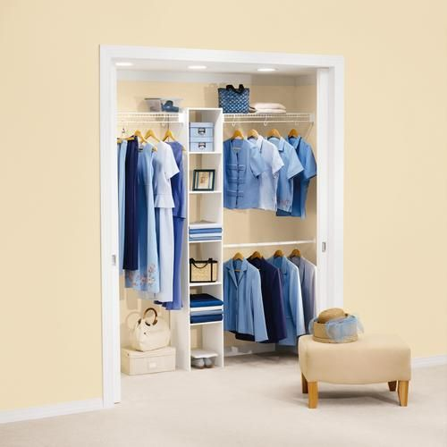 Laundry Room Closet   Even Better If The Lower Hanging Rod Is Removable***