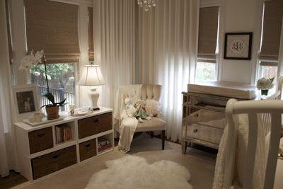 Brown Cream And White Nursery White Nursery Home Girl Room
