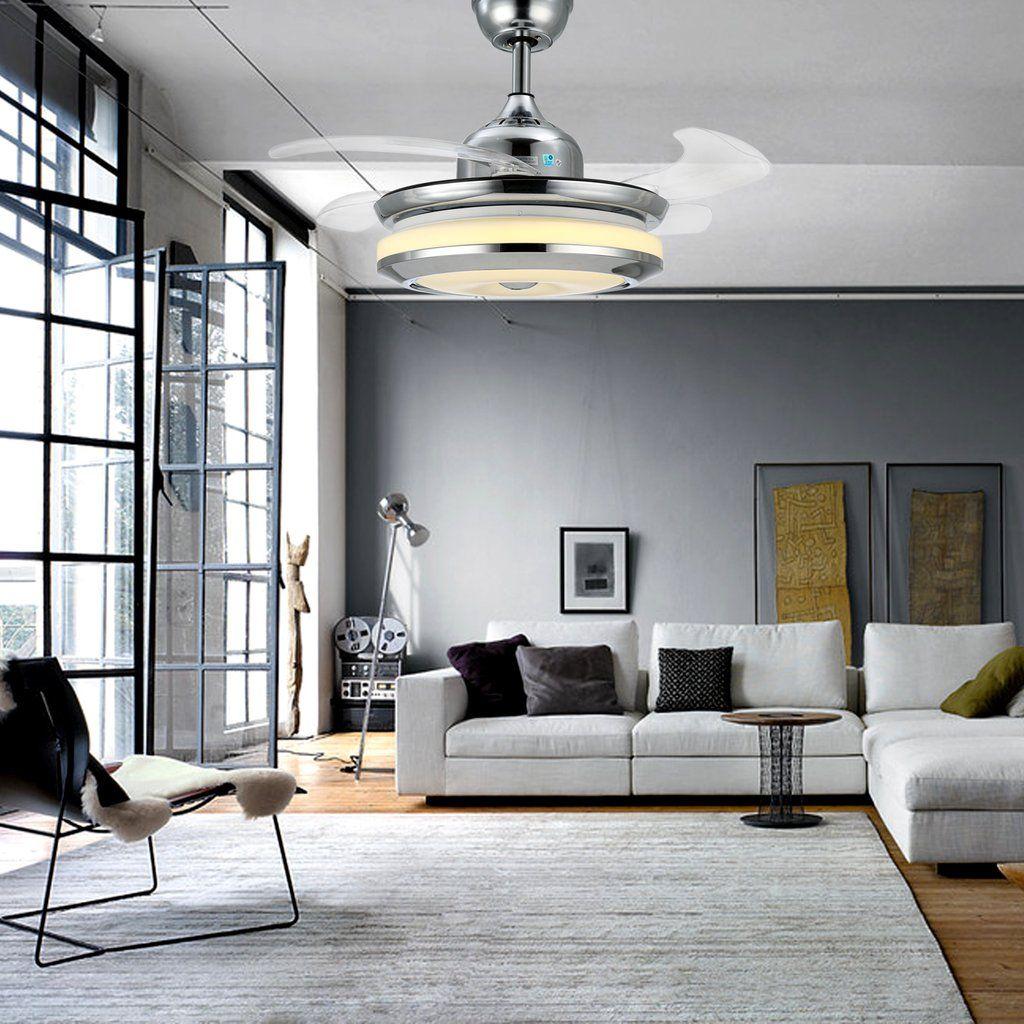 11++ Living room chandelier with fan info
