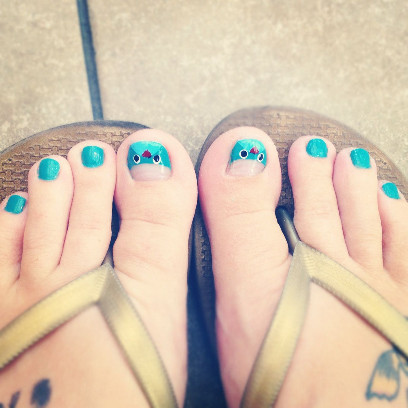 big toenail design bird - Google Search | Nails | Pinterest | Toe ...