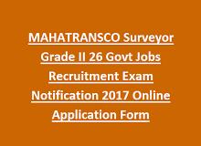 Mahatransco Surveyor Grade Ii 26 Govt Jobs Recruitment Exam