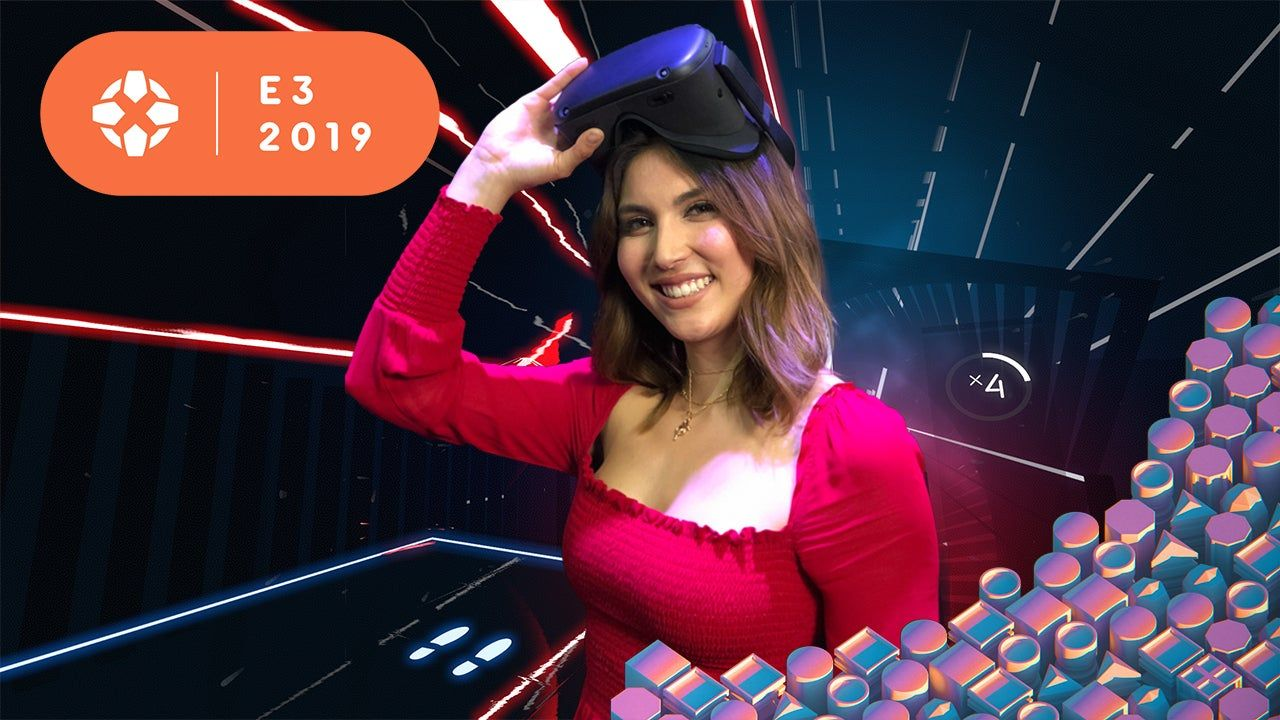 Oculus Quest Dancing to the Beat (Saber)! Sydnee stopped
