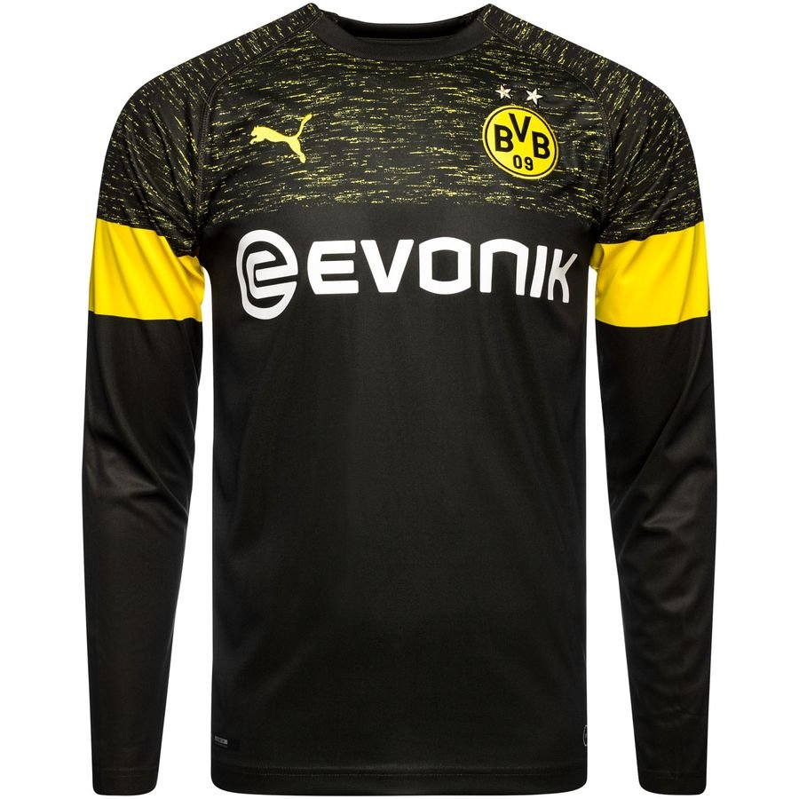 969073901504 Borussia Dortmund 18 19 Away Long Sleeve Men Soccer Jersey Personalize –  zorrojersey