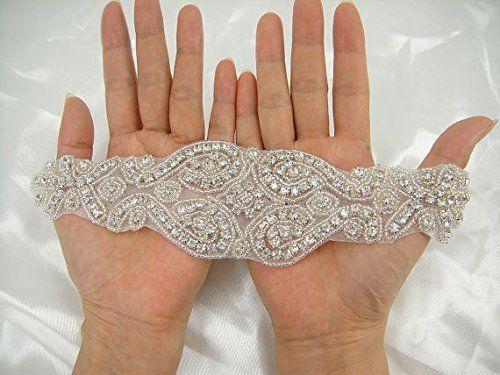 Shinybeauty fascia da matrimonio avorio wedding dress fascia e