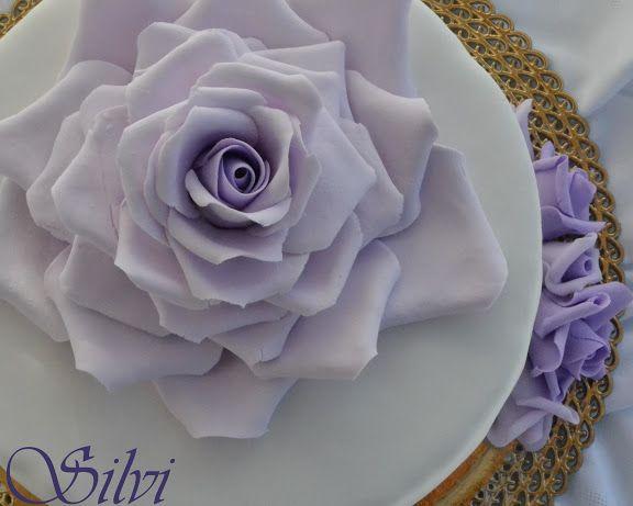 [PDZ] Una rosa lilla per la mamma (aggiunto tutorial della rosa) - Blog - Cookaround forum