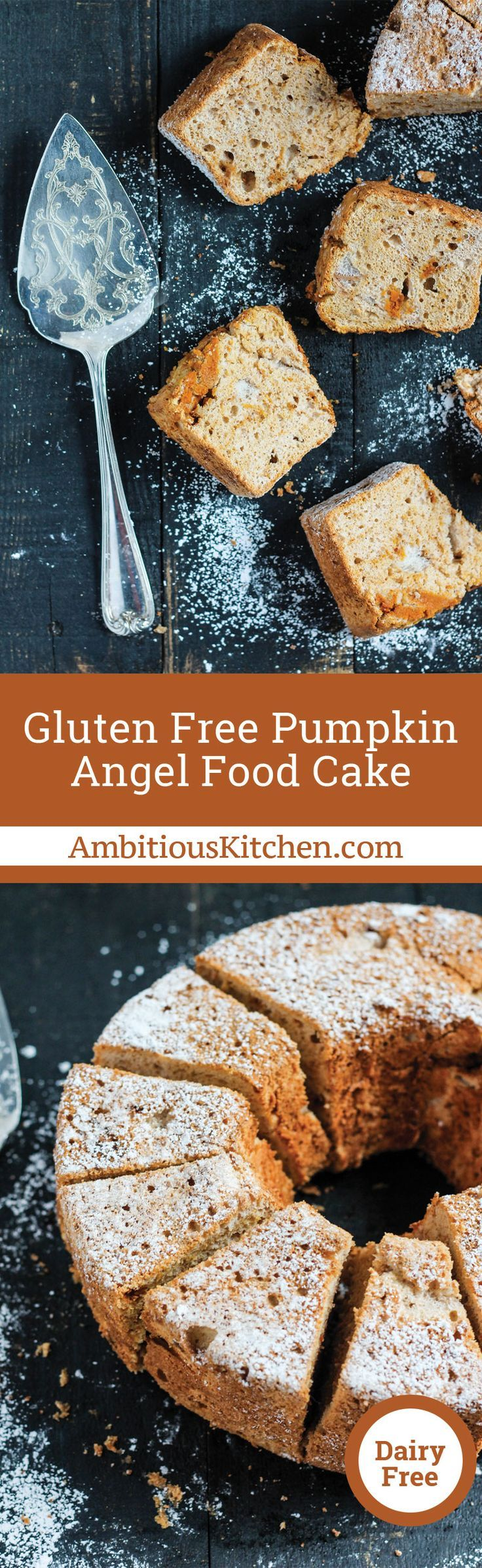 Gluten free pumpkin angel food cake recipe gluten free