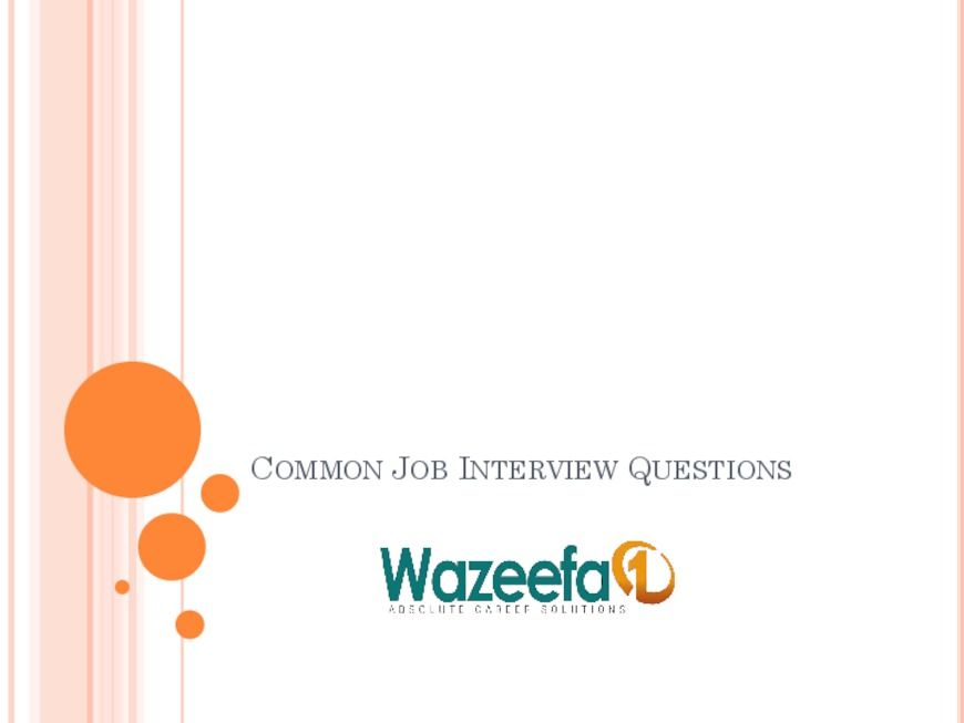 Wazeefa1 - the leading job portal offers various jobs in Kuwait and - leading job search sites