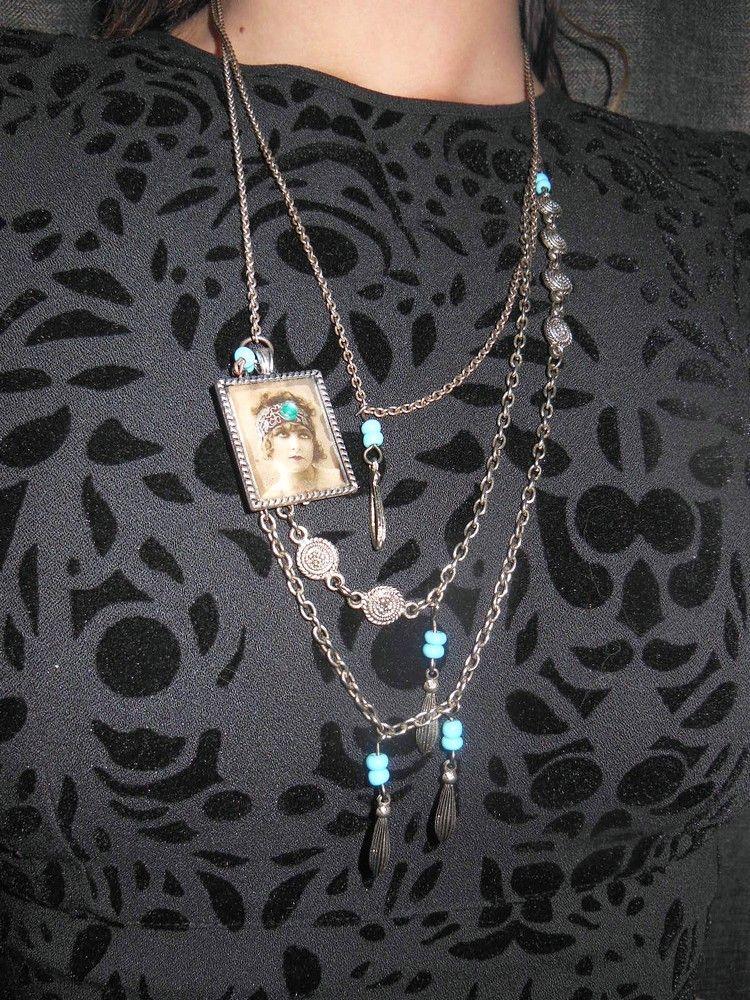 DIY necklace / Vanhasta korusta uusi /ArjaS