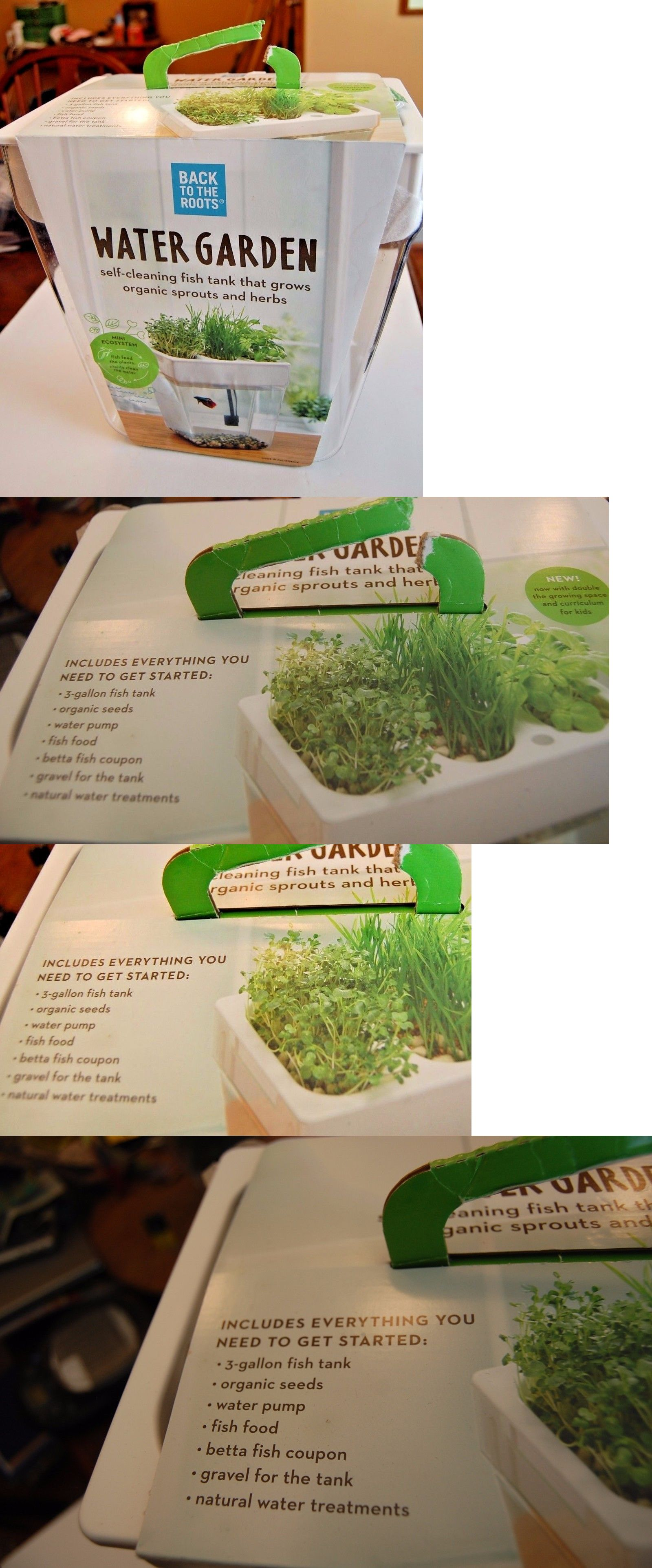 Self Cleaning Fish Tank Garden Aquariums And Tanks 20755 Water Garden Back To The Roots Self