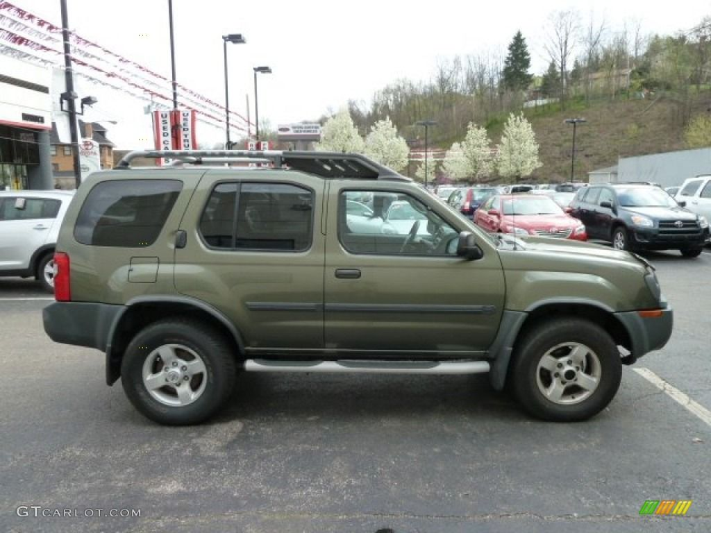 I want this color for my Forester some day -Nissan Xterra Canteen Green