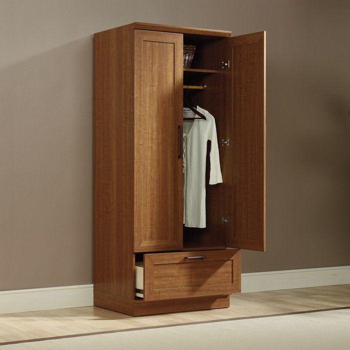 Amboyer Armoire Wardrobe storage Armoire, Wood