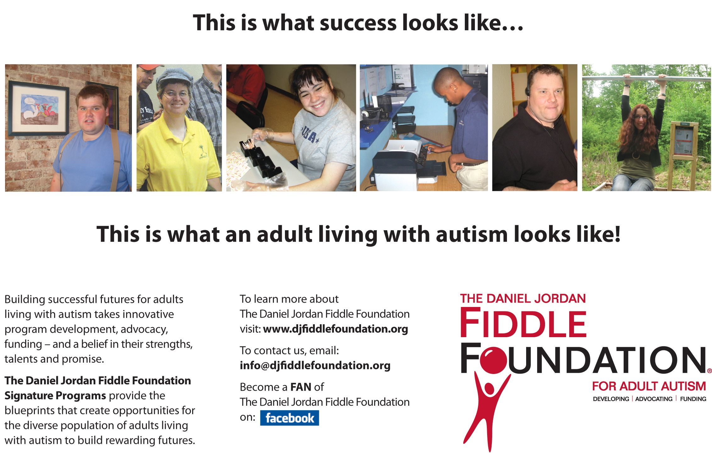 The Daniel Jordan Fiddle Foundation A National Autism