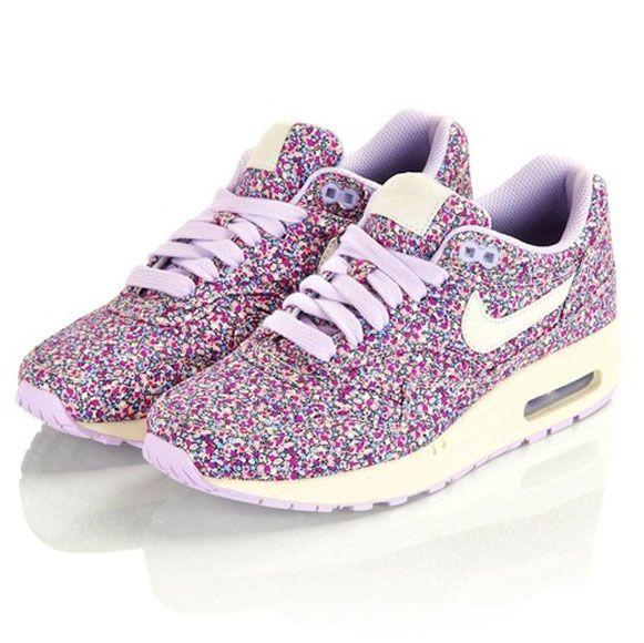hot sale online f3a50 4bb0c Nike Air Max 1 Premium - Liberty of London Floral Pepper Print - Purple    NikeAirMax1.com