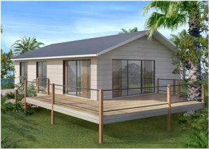 2 Bedroom Kit Home Small House Design House Plans Australia Small House Floor Plans