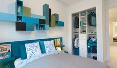 Playfully Colorful Interiors