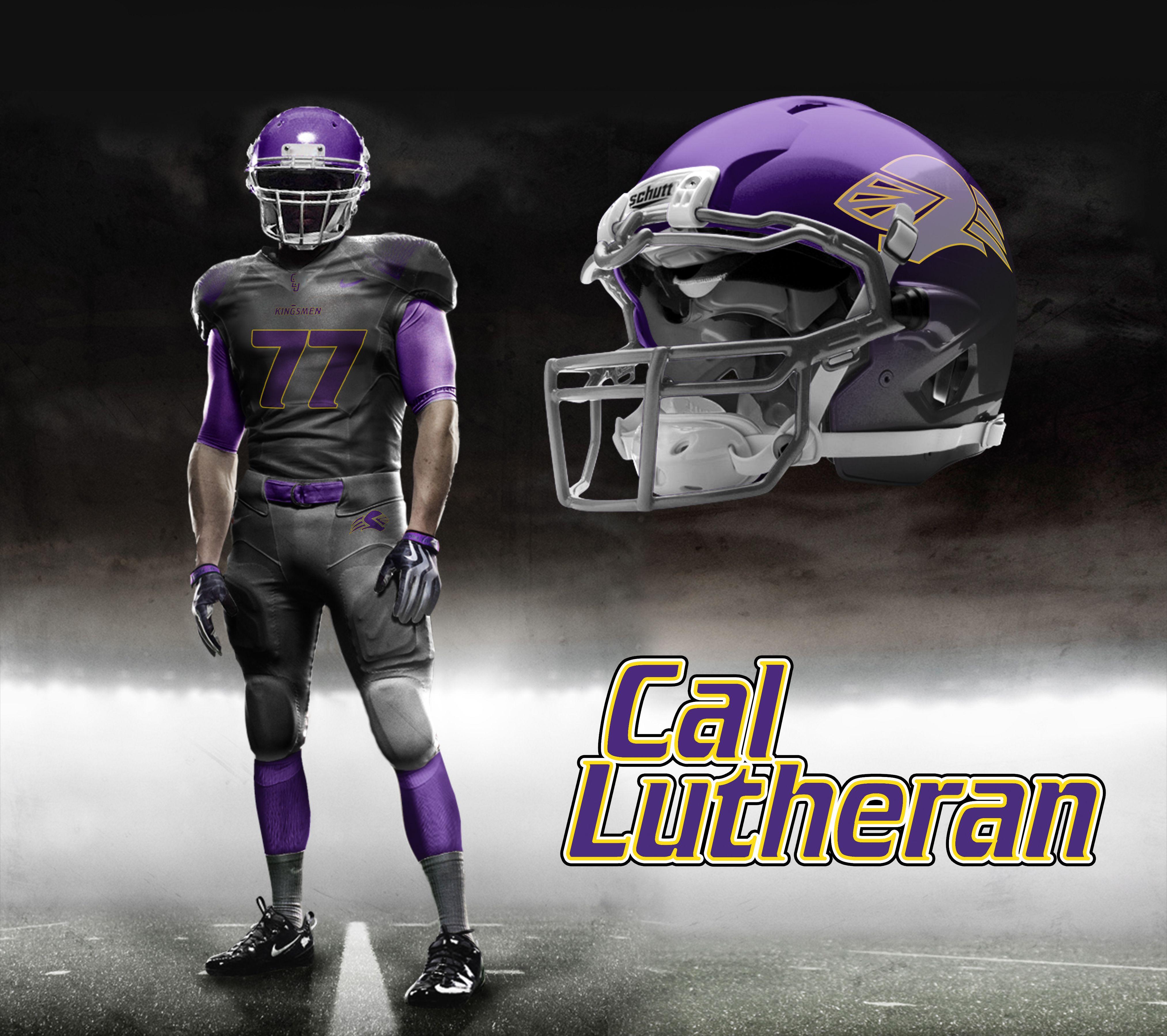 2014 Cal Lutheran Nike Pro Combat Uniforms Nike Pro Combat Combat Uniforms Football Uniforms
