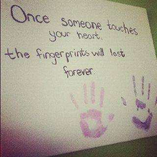 Cute Saying With Hand Prints Hand Quotes Handprint Art Helping