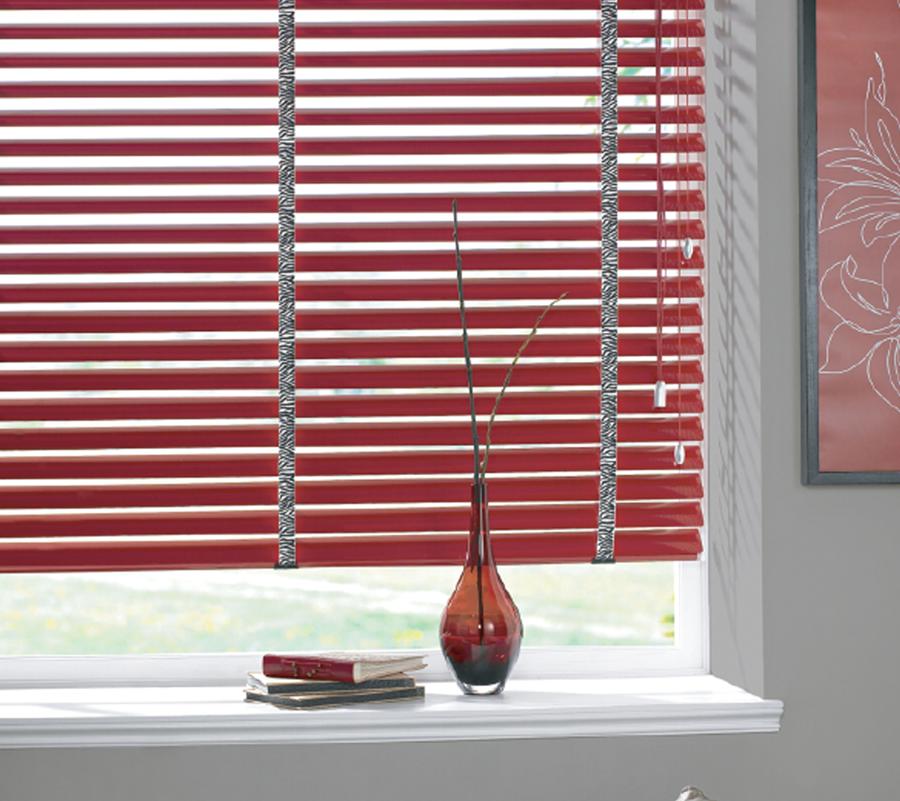 Aluminium Venetian Blinds | Illumin8 Blinds U0026 Curtains | Here In Red Colour