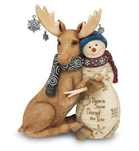 Reads Love Holds a Family Close by Pavilion Gift Company BirchHeart 5-Inch Tall Snowman Family