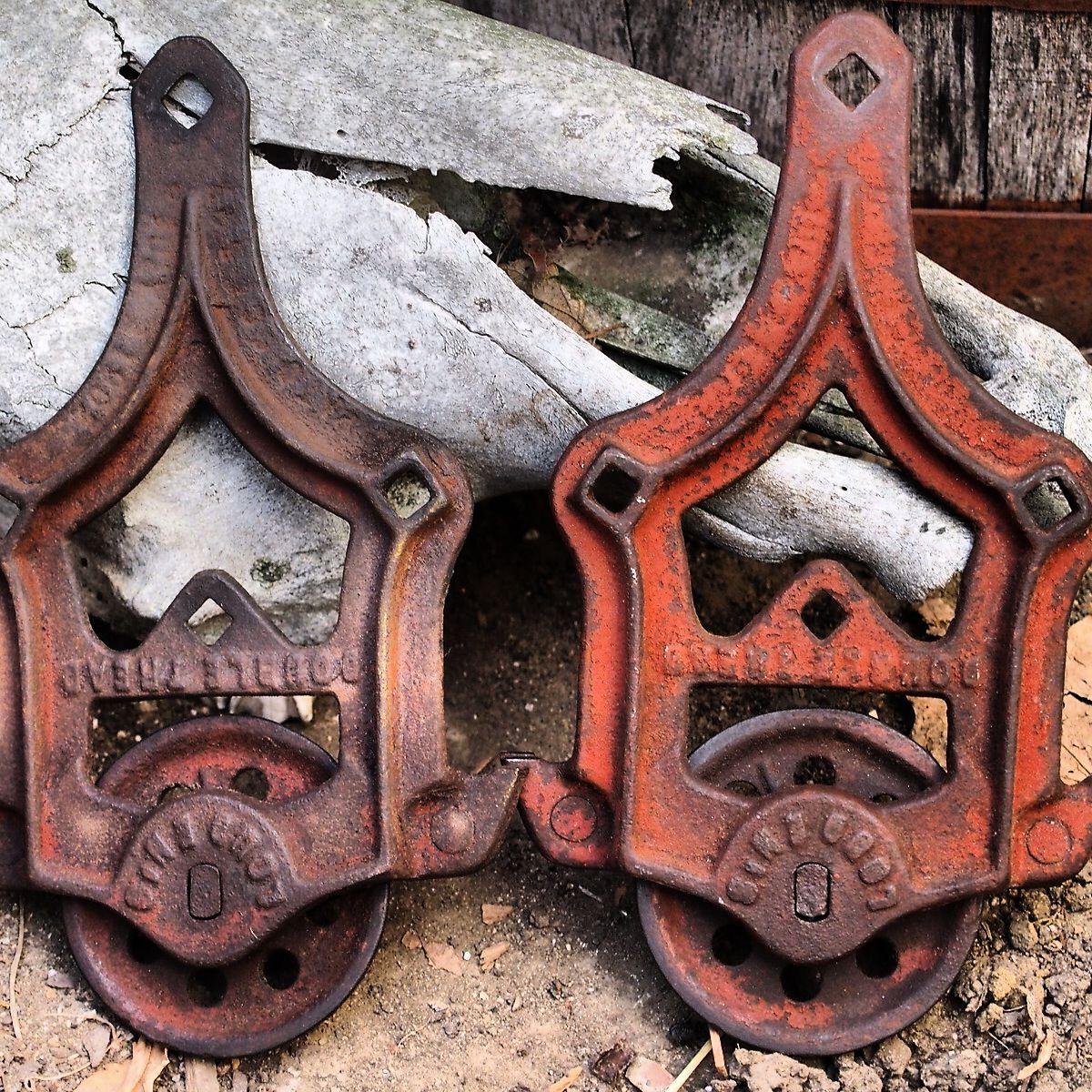 antique barn door hardware decor pinterest