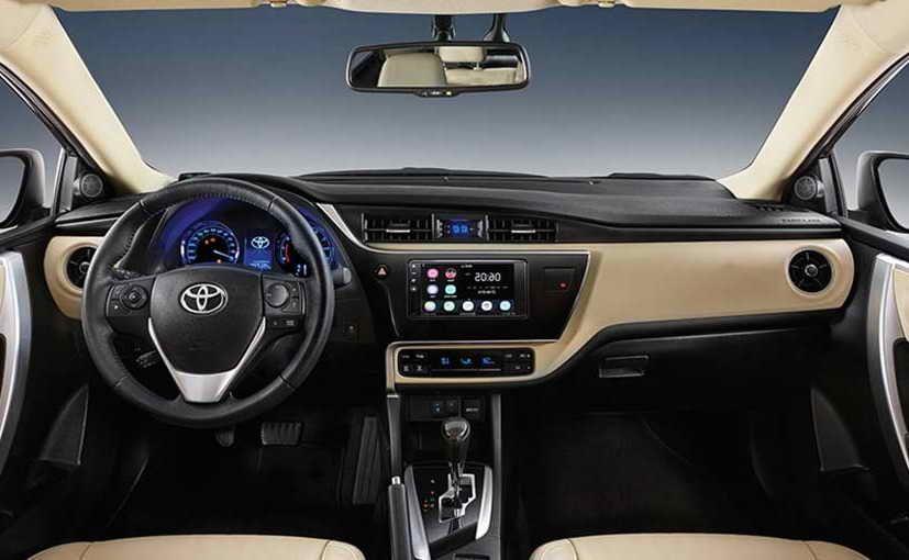Toyota Corolla Altis Facelift 2017