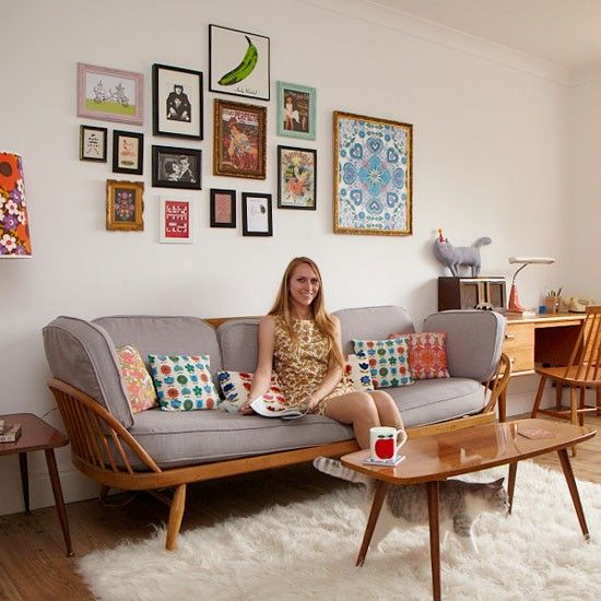 Retro Living Room Ideas And Decor Inspirations For The: Take A Tour Around Chloe's Colourful, Retro-inspired Home