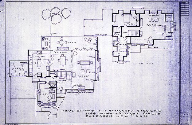 Bewitched Home Tv Floor Plans Tv Show House