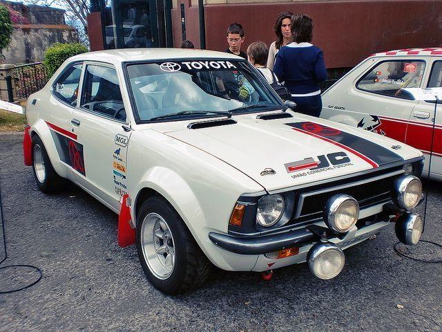 Toyota Corolla Rally car. Sweet flares! | Garage Ideas ...