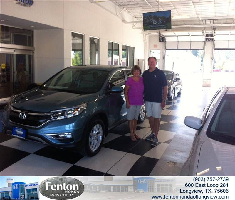 https://flic.kr/p/wws9er | Congratulations Jerry And Terry on your #Honda #Cr-V from Brian Vermillion at Fenton Honda of Longview! #NewCar | www.deliverymaxx.com/DealerReviews.aspx?DealerCode=RFWA