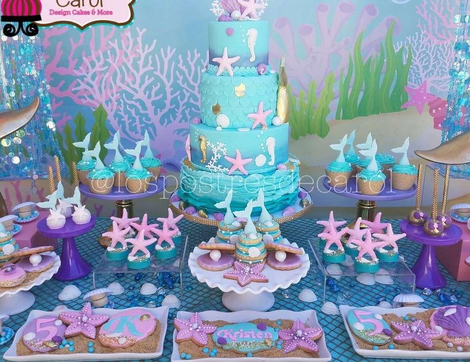 Mermaids Birthday Quot Kristen Mermaid Party Quot In 2019