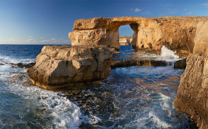 Gozo, Malta. Limestone Quarry, Semi-Arid Vegetation, Rocky ...   Gozo Limestone