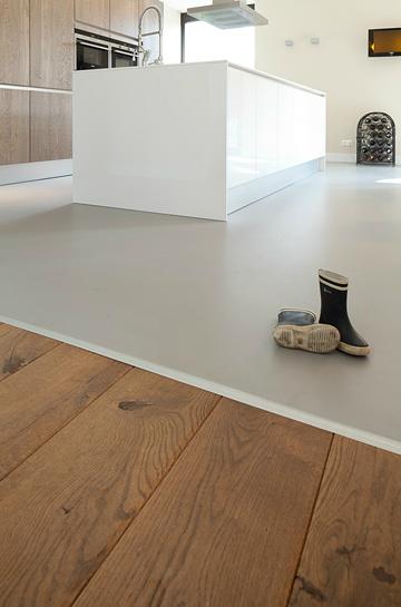 Ubergang Kuche Wohnzimmer Kuchen In 2019 Pinterest Flooring