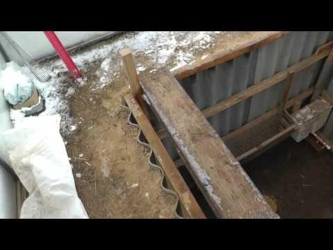 (16) Конструкция ямы для кроликов. - YouTube