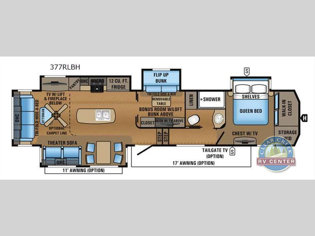 North Point Rv >> New 2017 Jayco North Point 377rlbh Fifth Wheel At Clear