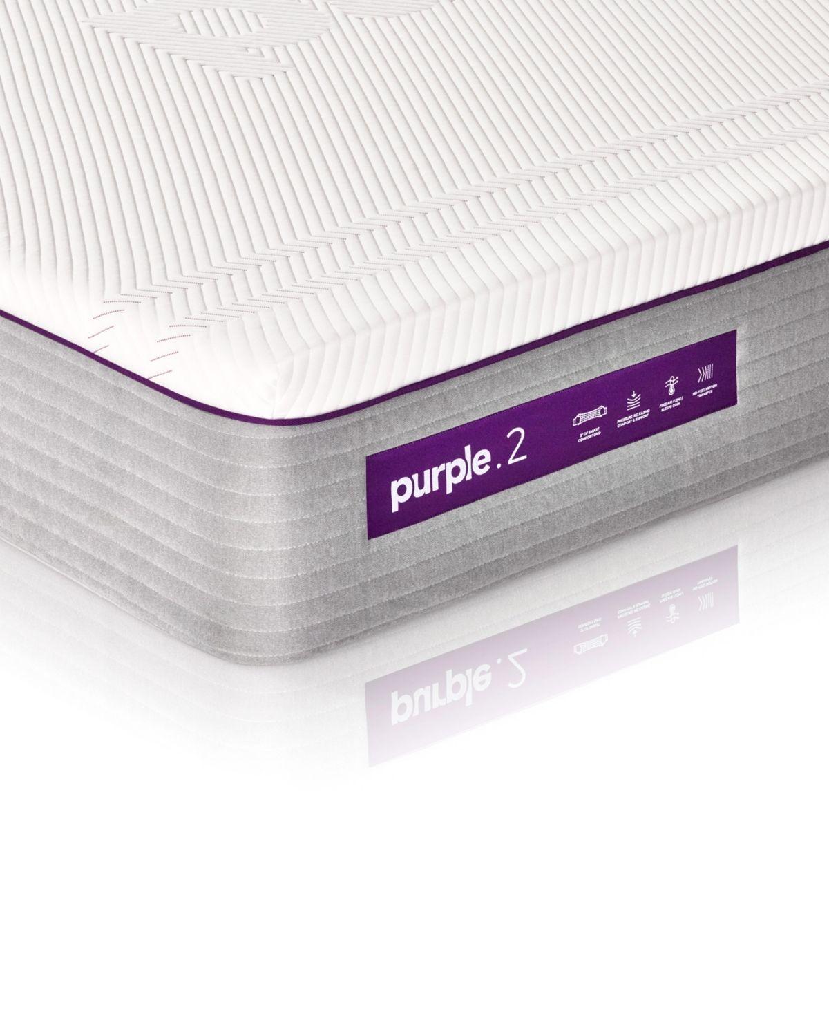 Purple 2 Hybrid 11 Mattress Full Reviews Mattresses Macy S In 2020 With Images Purple Mattress Firm Mattress Purple