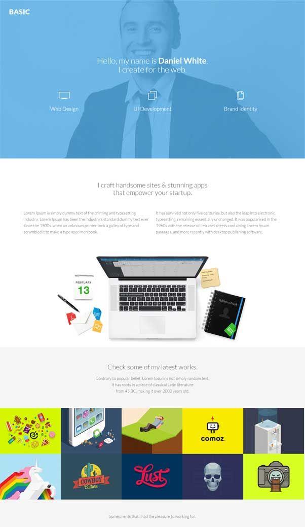 basic website templates