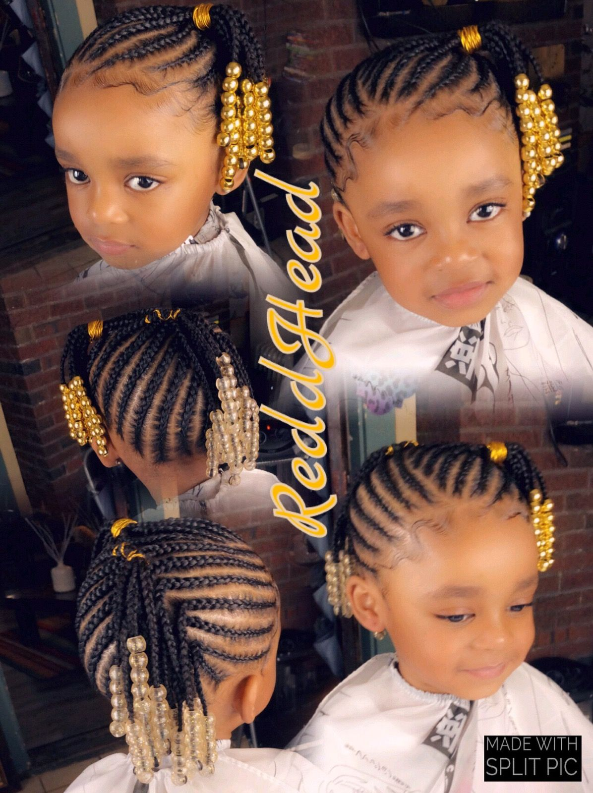 Pin By Terressa Matthews On Black Kids Hairstyles In 2020 Little Girl Braid Styles Toddler Hairstyles Girl Toddler Braided Hairstyles