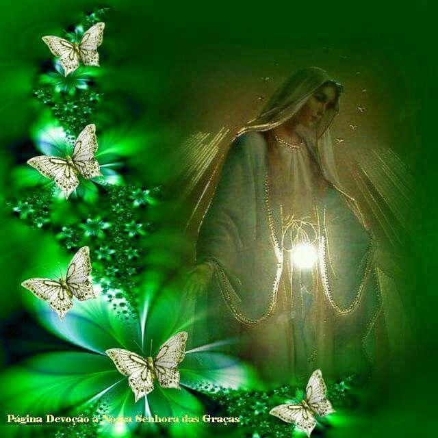 Me gusta la Virgen con las mariposas | Virgen