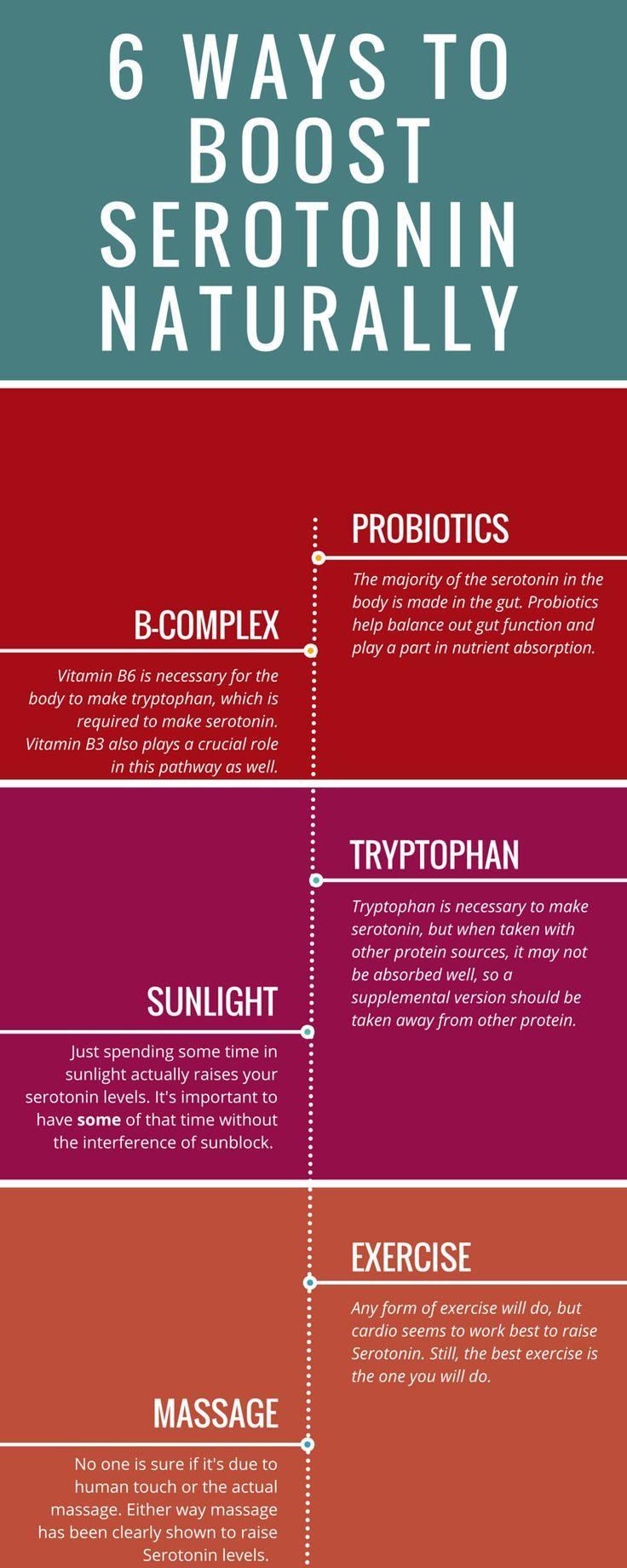 6 ways to naturally boost serotonin (2) health pinterest6 ways to naturally boost serotonin (2)