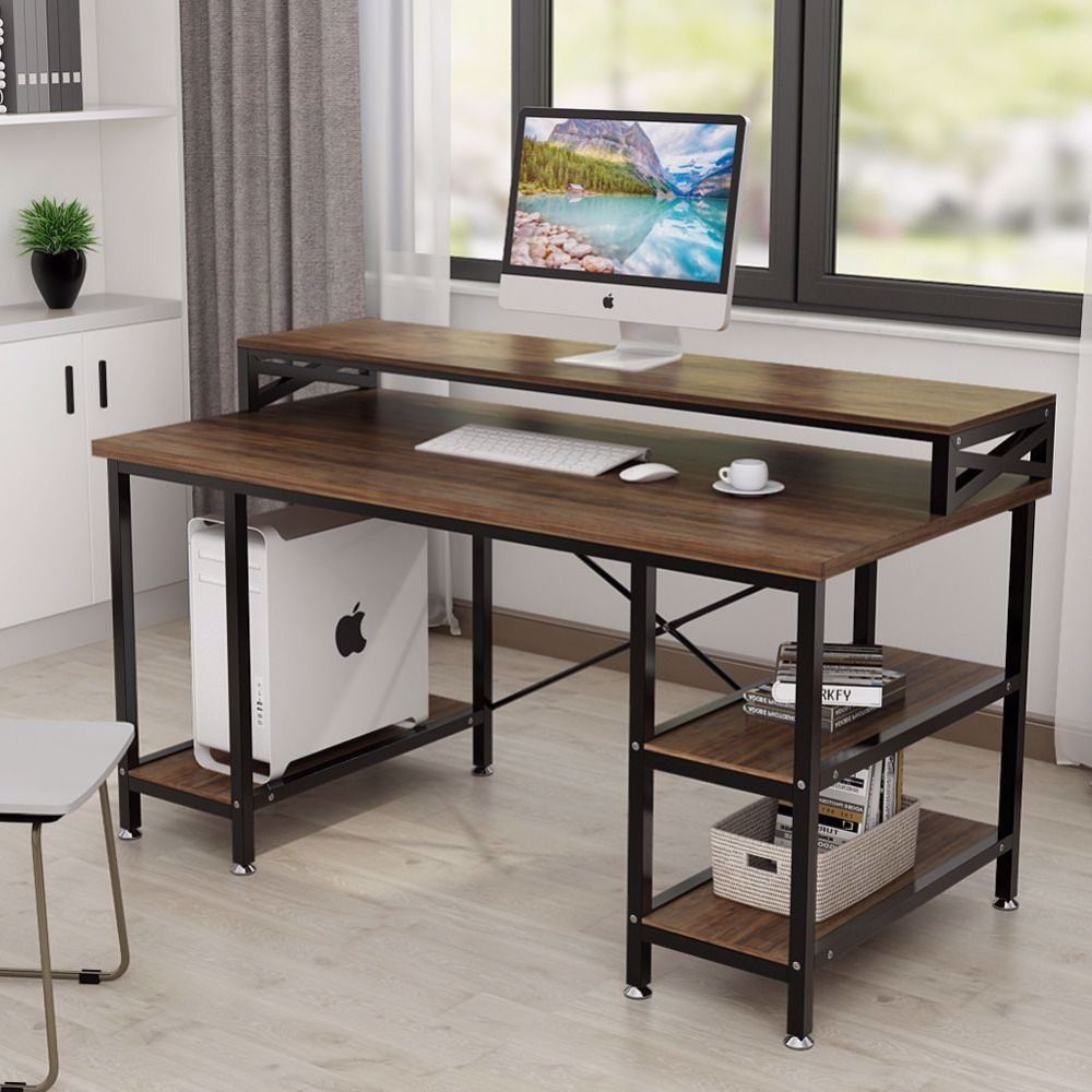 Large Computer Desk With Drawers